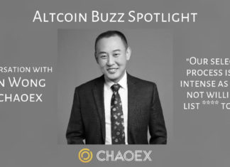 Altcoin Buzz interview with CHAOEX