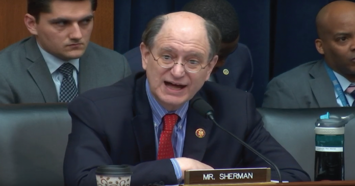 U.S. Congressman Calls for a Bill to Ban Cryptocurrencies Bradley-Sherman-696x365