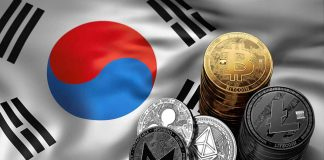 Crypto Coins On S. Korean Flat