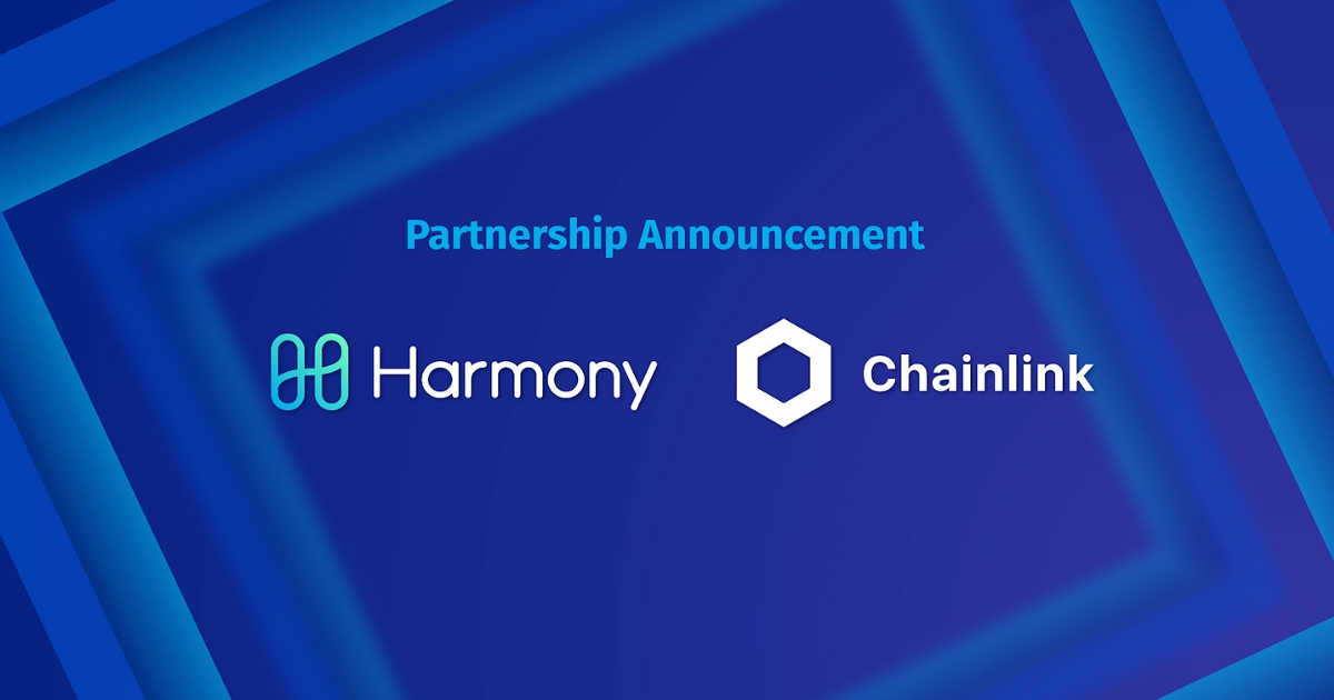Harmony Announces Partnership with Chainlink for Off-Chain