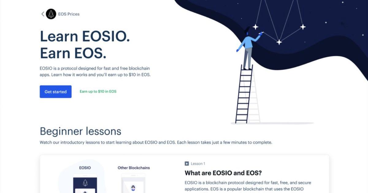 free eos coinbase