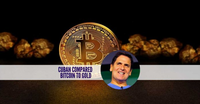Billionaire Mark Cuban Compares Bitcoin to Gold