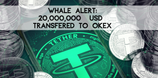 Yes it's true, someone moved 20,000,000 USDT to OKEX
