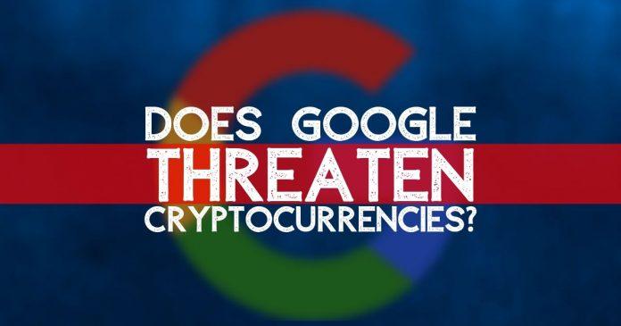 Google threatening Bitcoin?