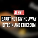 An account is impersonating Bakkt