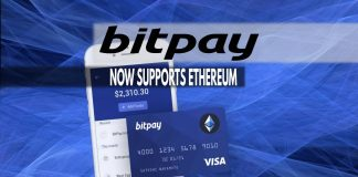 Bitpay now supports Ethereum