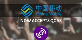 China Mobile now accepts QGas
