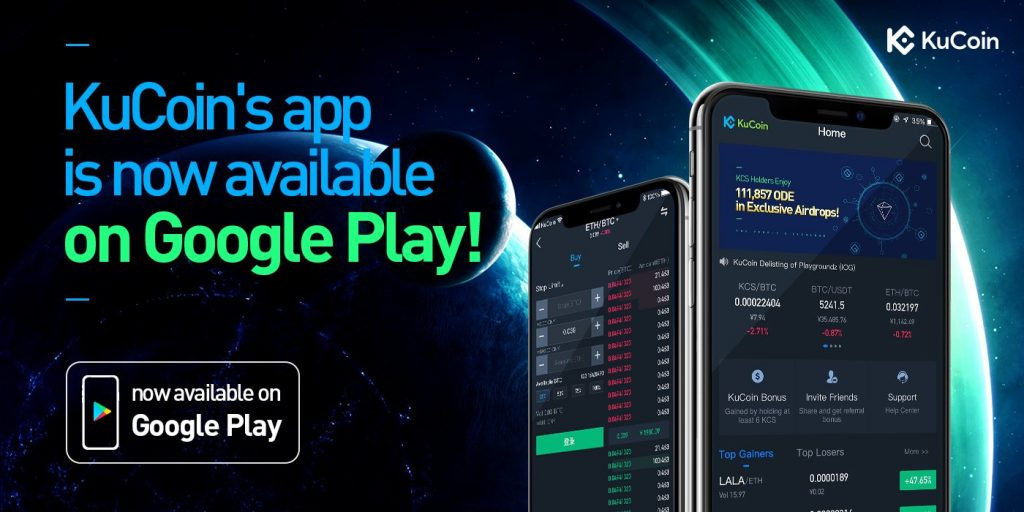 Get the KuCoin App on Google Play Store