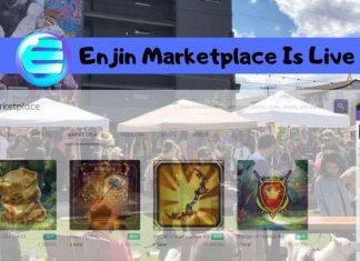Enjin marketplace is now available
