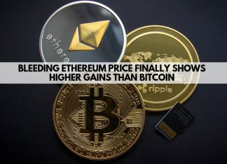 Bleeding Ethereum Price finally shows higher gains than Bitcoin
