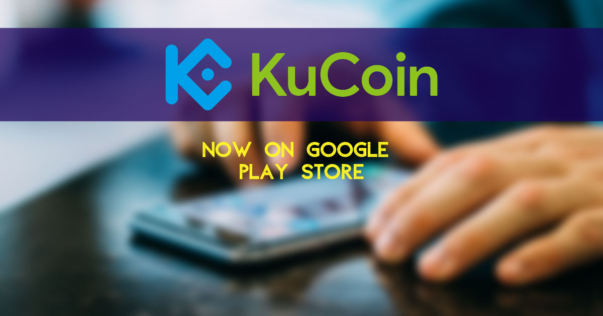 Storing cryptocurrency on kucoin