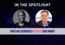 arthur hayes offends craig wright
