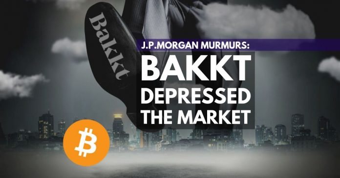 J.P. Morgan comments on the market meltdown