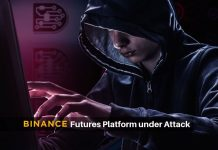 Trouble: Binance Bitcoin futures platform attacked