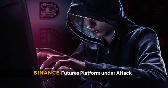 Trouble: Binance Bitcoin futures platform attacked