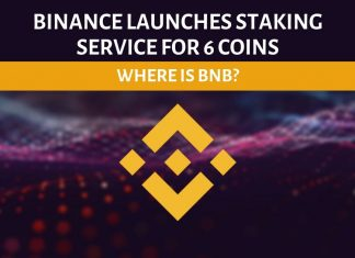 Binance doesn't allow you to stake BNB