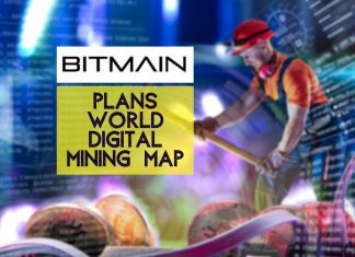 Bitmain Plans World Digital Mining Map