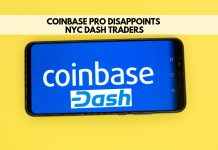 Coinbase Pro disappoints NYC DASH traders