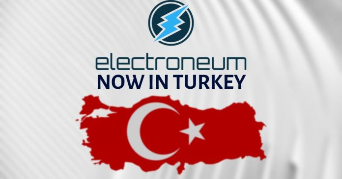 Electroneum is now available in Turkey