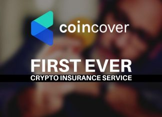 first ever cryptocurrency insurance service