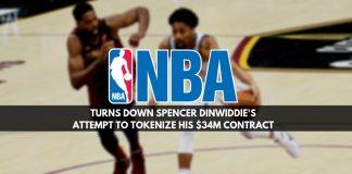 NBA is not letting Spencer tokenize
