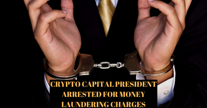 Crypto Capital President in Custody for Money Laundering Charges