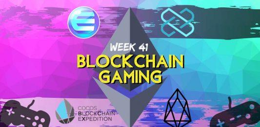 Blockchain Gaming Updates Week 41