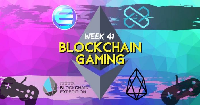Blockchain Gaming Updates Week 41