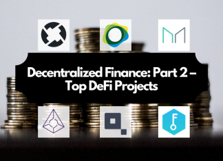 Understanding the Decentralized Finance Ecosystem: Part 2 – Top DeFi Projects