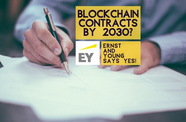 Blockchain Contracts by 2030? EY Thinks Yes