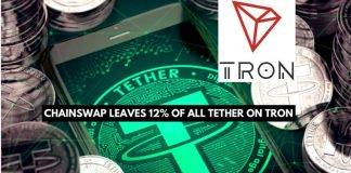 About 12% of All Tether is on the Tron Network