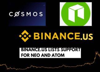 Binance.US Lists NEO (NEO) and Cosmos (ATOM)