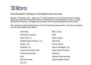 Facebook's Libra partners