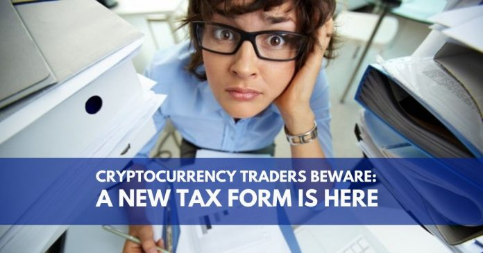 Cryptocurrency tax form
