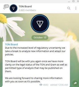 TON Board now
