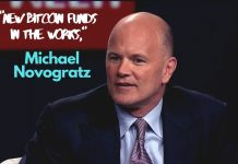 New Bitcoin Fund In the Works, Says Michael Novogratz