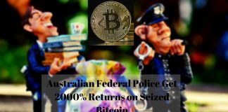 Australian Federal Police Get 2000% Returns on Seized Bitcoin