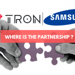 No Partnership News: TRON Rejoices Samsung Blockchain Keystore Integration