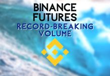 Binance record breaking volumes