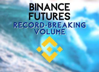 Binance record breaking volumes