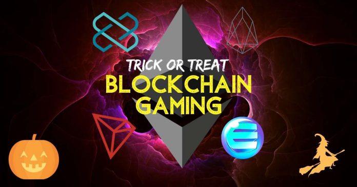 blockchain gaming halloween
