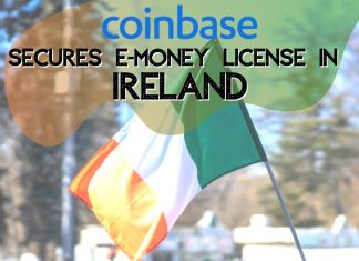 Coinbase in ireland