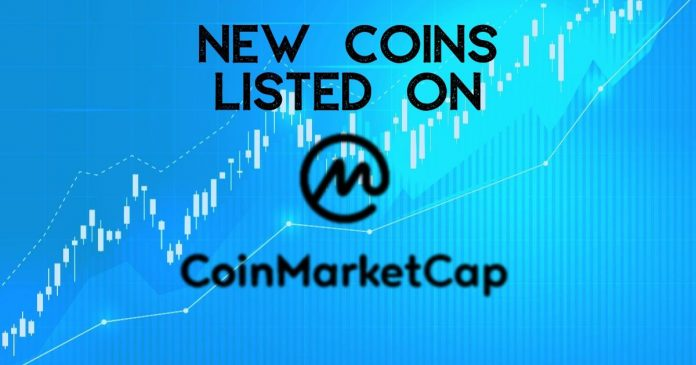 Coinmarketcap lists new coins
