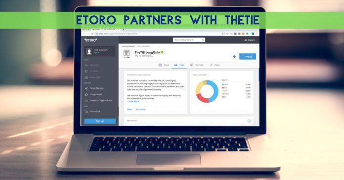 eToro Partners with TheTie