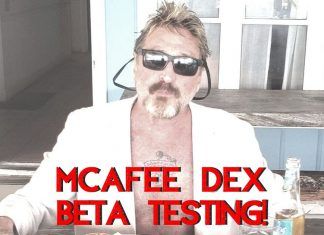McAfee is still in the cryptogame