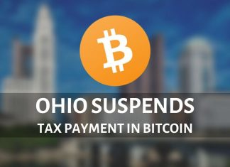 Bitcoin is not accepted as a tax payment in Ohio