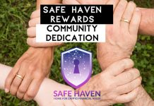 Safe Haven Rewards Community Dedication