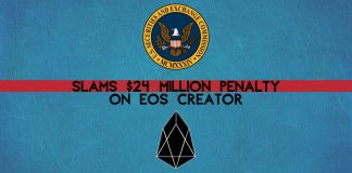 EOS has to pay a big sum