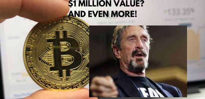 McAfee Still Believes in Bitcoin