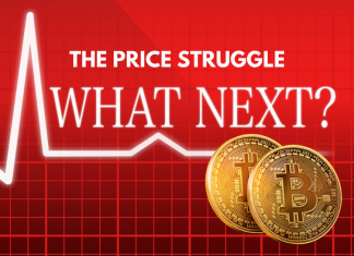 Bitcoin struggles